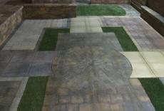 Fareham landscaping display